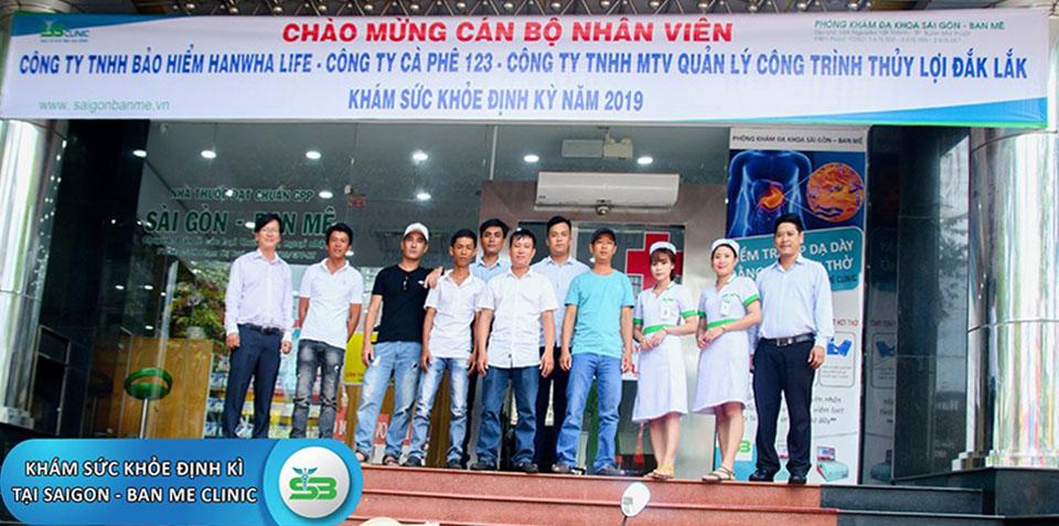 Các Doanh nghiệp trên địa bàn khám sức khỏe định kỳ tại PKDK Sài Gòn - Ban Mê