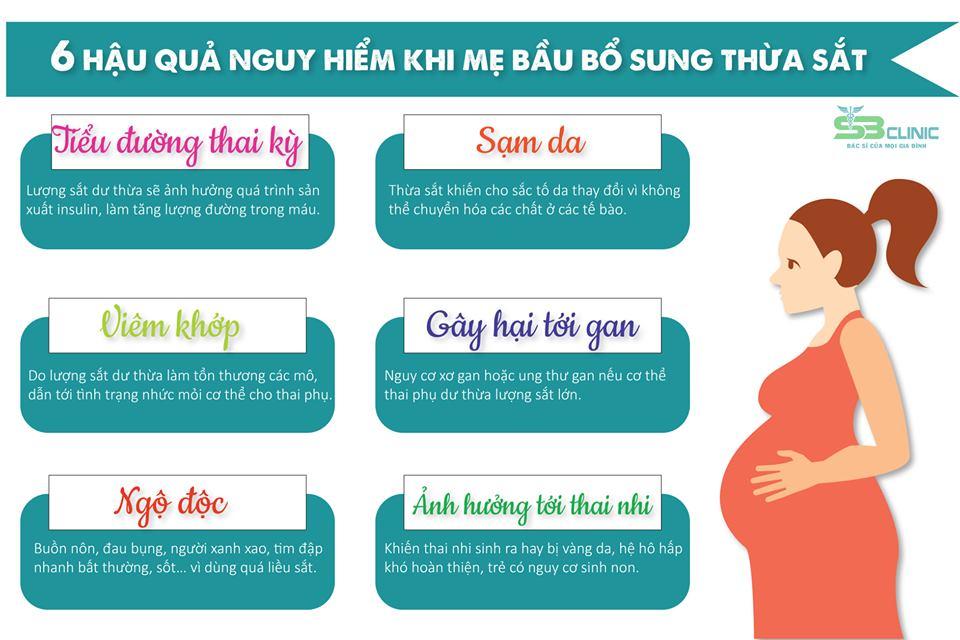 Bạn đã biết cách bổ sung sắt đúng cách để không làm tổn thương sự phát triển thai nhi chưa ?
